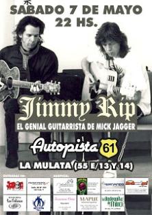 * Jimmy Rip en La Plata – (La Maza Blues ~ Radio Universidad)